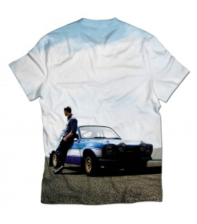 Paul walker all printed t-shirt